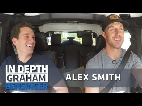 Alex Smith: I listen to NPR before games!