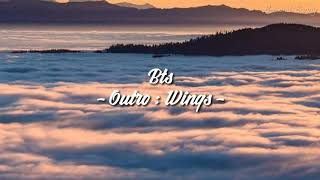 Download Lirik lagu Bts ' Outro : Wings ' ( sub indo ) | Terjemah indonesia