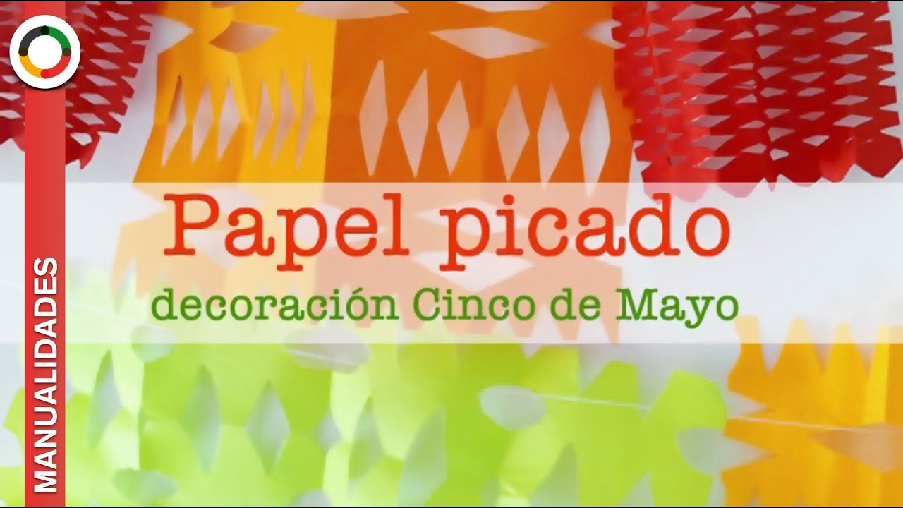 C mo hacer papel picado para la decoraci n del cinco de - Adornos para la pared ...