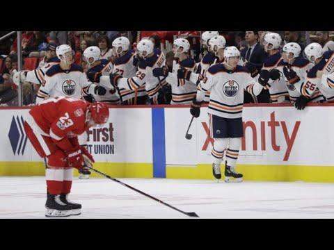 Edmonton Oilers vs Detroit Red Wings Recap 11/03/18