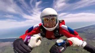 My 41st jump / RW Skydiving 2 way / Offspring - No brakes