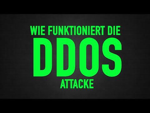 Wie funktioniert DDOS?