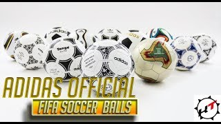 The Complete History of adidas Official FIFA World Cup Soccer Balls ( 1970 - 2018 )