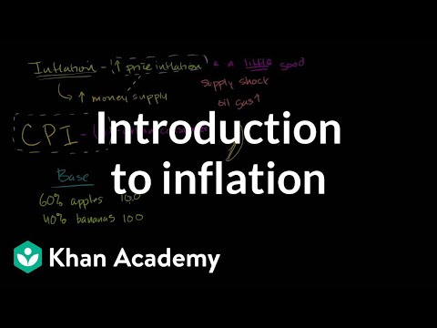 Introduction to inflation | Inflation - measuring the cost of living | Macroeconomics | Khan Academy