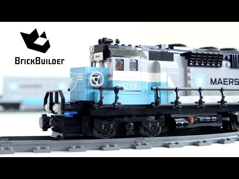 Motorized 2x Lego Maersk Train 10219!!!