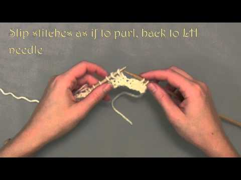 Slip Slilp Knit (SSK) Continental style