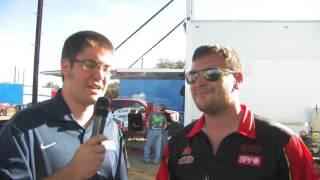 Gettin' the dirt on Brock Bauman at Shady Oaks Speedway