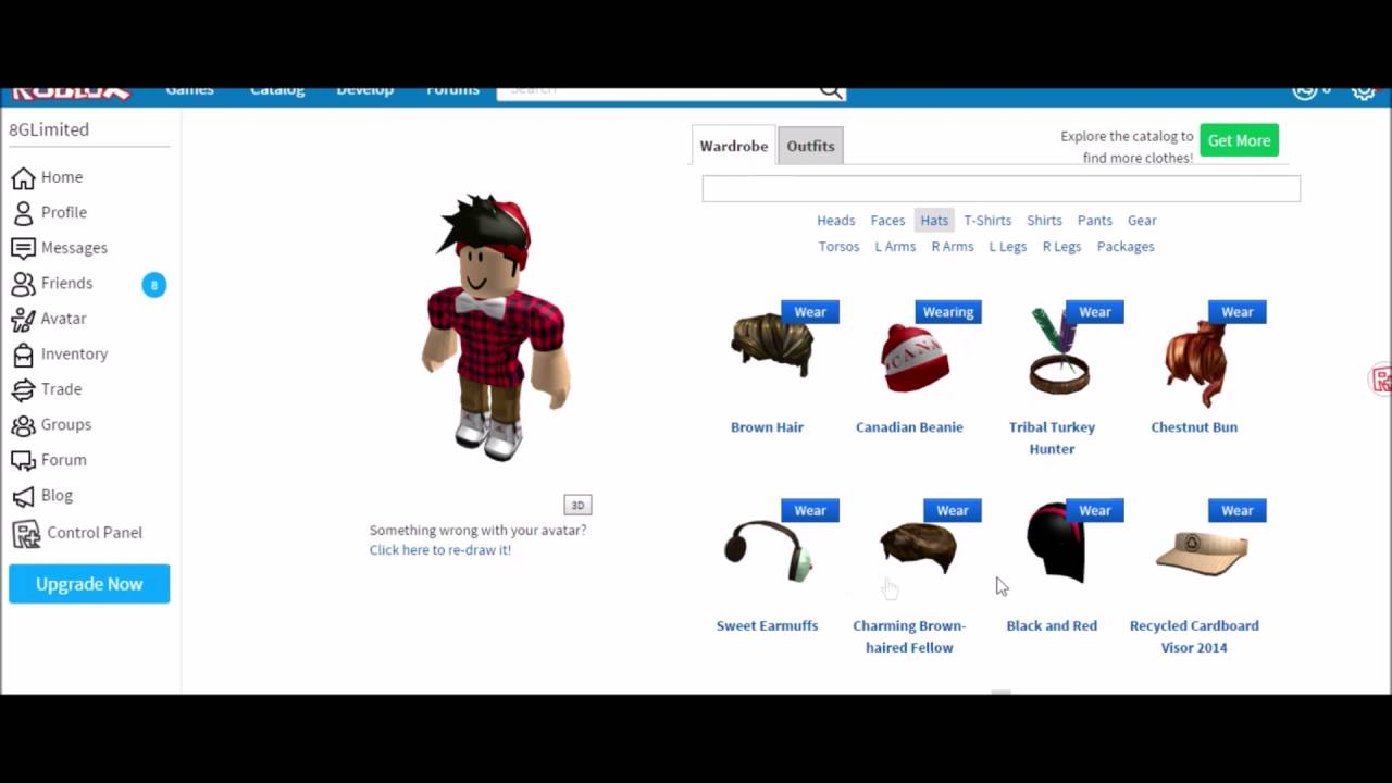 ROBLOX Free Account Giveaway - YouTube