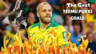 Teemu Pukki Is On Fire | All Championship Goals