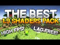 Best Minecraft 1.9 Shaders Pack | High FPS and No Lag!