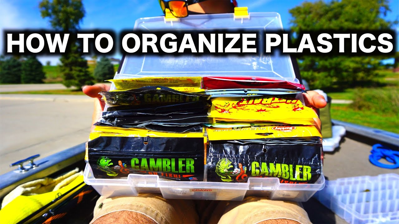 & How To Organize Soft Plastics - Top 3 Ways - YouTube
