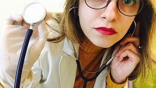 💊 Medical roleplay ASMR ita (sub FR) - Latex gloves, taking care