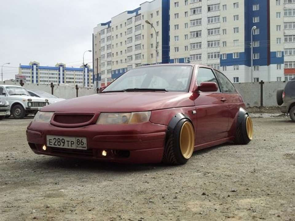 1237. Auto Wide Wheels Tuning [RUSSIAN CARS] - YouTube