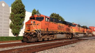 Monster BNSF Stacktrain with a Weird Twist