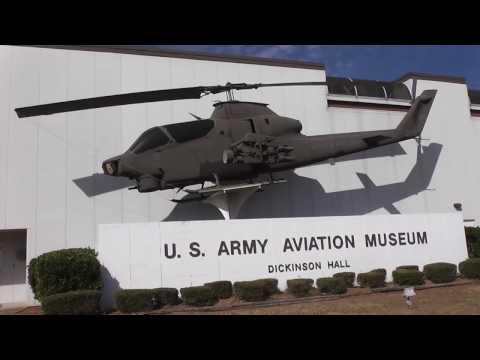 THE U.S.ARMY AVIATION MUSEUM AT FT.RUCKER ALABAMA DALEVILLE,ALABAMA 10-25-2016