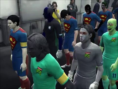 PES 2013 Fantasy - Teenage Mutant Ninja Turtles vs DC Heroes | Fantasy Matchdays |
