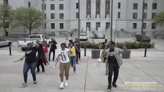 """Beyoncé-""""Before I Let Go"""" DANCE CHALLENGE w/ Arnetta Johnson and The Trumpet Chics"""