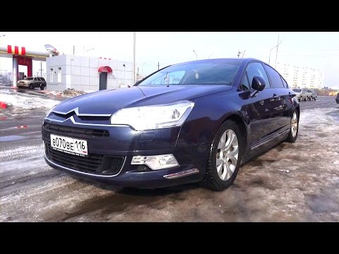 2009 Citroën С5. Start Up, Engine, and In Depth Tour.