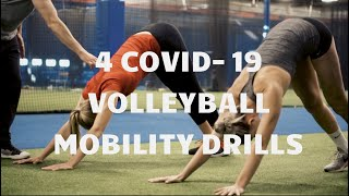 4 COVID 19 At Home Volleyball Mobility Drills