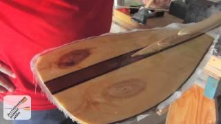 Canoe Paddle Blade - Fiberglass and Epoxy