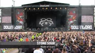 Slipknot - Surfacing - Stone Sour -  Made of Scars- Download Festival 2013 Live