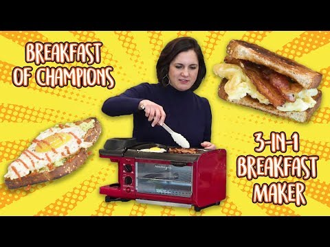 Breakfast Of Champions: This 3-In-1 Breakfast Maker Makes Coffee, Eggs, Bacon And Toast | Well Done