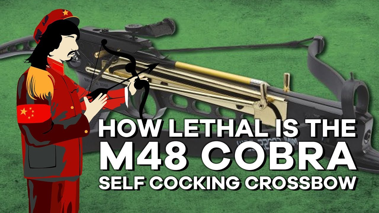 How Lethal Is the Cobra Crossbow? by Lil Mao