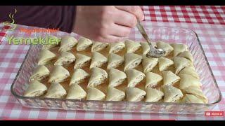 Üçgen Baklava Tarifi - Farklı Bayram Tatlıları / Hayalimdeki Yemekler