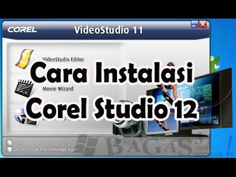 cara menggunakan keygen corel video studio x8