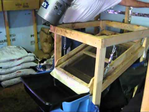 Updated Dual Screen Worm Harvester Amp Soil Sifter Youtube