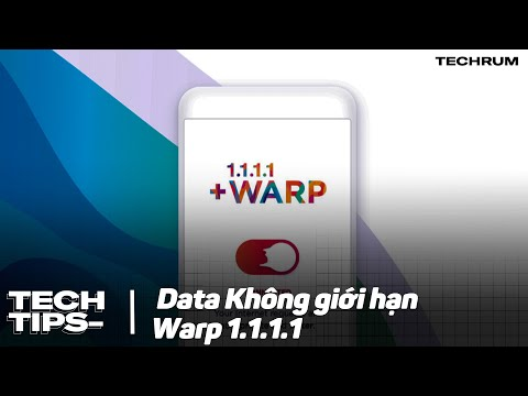 Hướng dẫn buff WARP+ miễn phí cho ứng dụng 1.1.1.1 mới nhất 2021