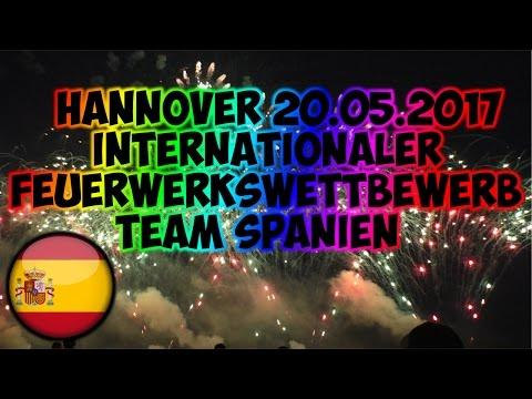INTERNATIONALER FEUERWERKSWETTBEWERB 2017 HANNOVER | TEAM SPANIEN