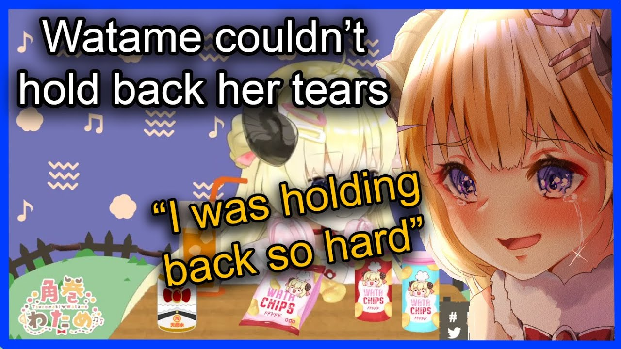 【HOLOLIVE】Watame let her feelings out 【EngSub】