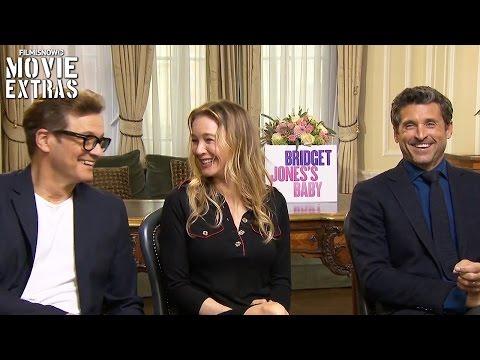 Bridget Jones s Baby (2016) - Renée Zellweger, Patrick Dempsey & Colin Firth talk about the movie streaming vf