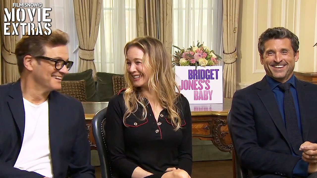Bridget Jones S Baby 2016 Renée Zellweger Patrick Dempsey Colin Firth Talk About The Movie