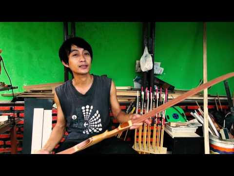 Pengerajin Busur Panah Bekasi