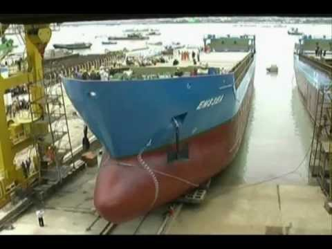 Shipbuilding Industry in Bangladesh like WMShL.wmv