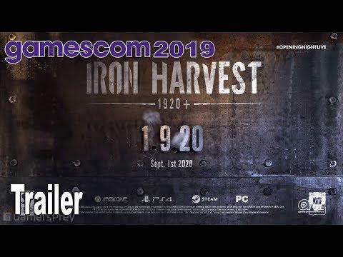 La estrategia estilo Company of Heroes en clave dieselpunk de Iron Harvest recibe fecha de lanzamiento