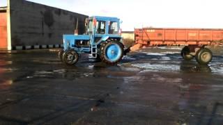 Как я сдавал на тракториста, не сдал