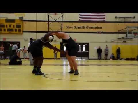 Andrew Osbron vs Darian Holmes Henry Ford College 3rd place match