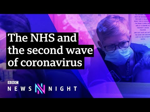 Fighting Covid: How are hospitals dealing with the second wave? - BBC Newsnight