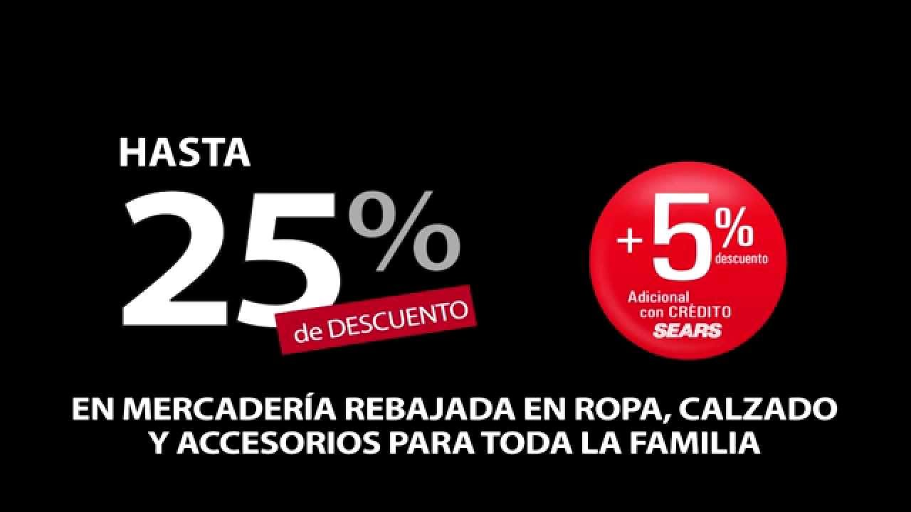 CORTINA PROMO 2 SEARS 100% A TUS PIES (CANAL REAL 98 TIGO Y 25 ...