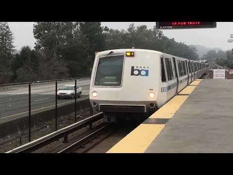 BART Train Ride (Lafayette To Pittsburg Bay Point) 1-16-18