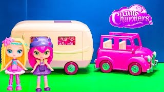 LITTLE CHARMERS Nickelodeon  Li'l Woodzees Happy Camper + Hazel Witches Toys Video