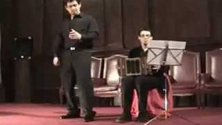 Flores de Cristal (Voz & Bandoneón)