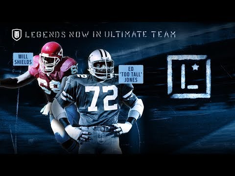 LEGENDS WILL SHIELDS AND TOO TALL! LEGEND PICKUPS! | MADDEN 18 ULTIMATE TEAM