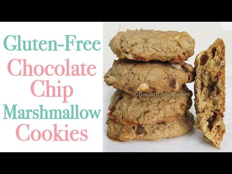 GLUTEN-FREE CHOCOLATE CHIP MARSHMALLOW COOKIES | Baking Cherry