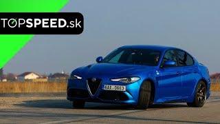 Alfa Romeo Giulia Quadrifoglio - pure drive - TOPSPEED.sk