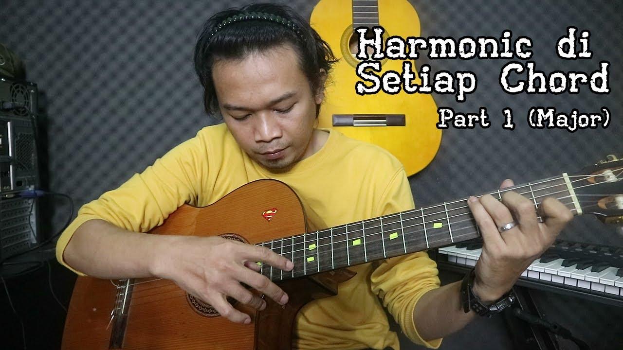 Belajar Harmonic di Setiap Chord Gitar | Part 1 - YouTube