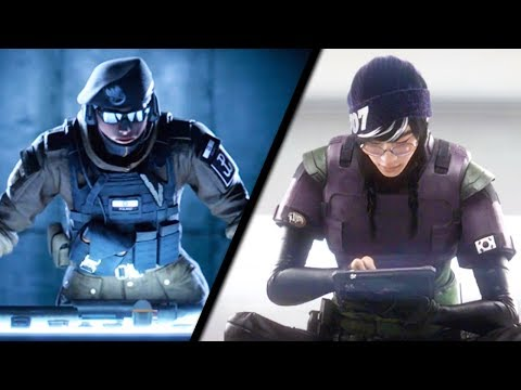 Rainbow Six Siege NEW Operators Zofia + Dokkaebi Operation White Noise Teaser Trailer